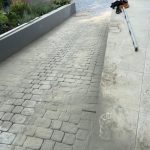 Essex block paving driveway and electric gates